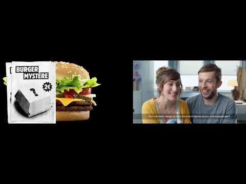 BURGER KING - Burger Mystère