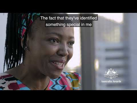 Australia Awards Scholarships in a word - by African scholars