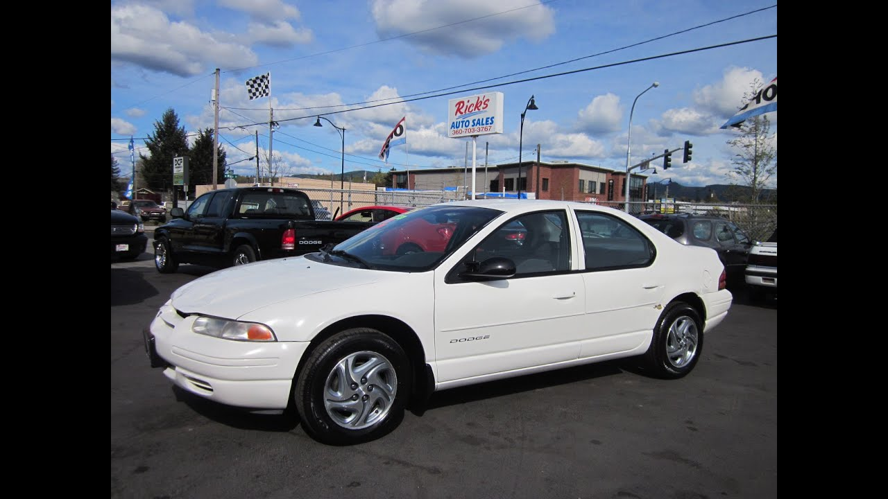 1999 dodge stratus sold youtube