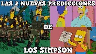 LAS 2 NUEVAS PREDICCIONES DE LOS SIMPSON
