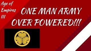 Japan One Man Army! Treaty in AoE III