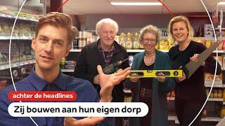 Inwoners Groningse Sauwerd nemen heft in eigen hand tegen leegloop   Achter de headlines   NOS