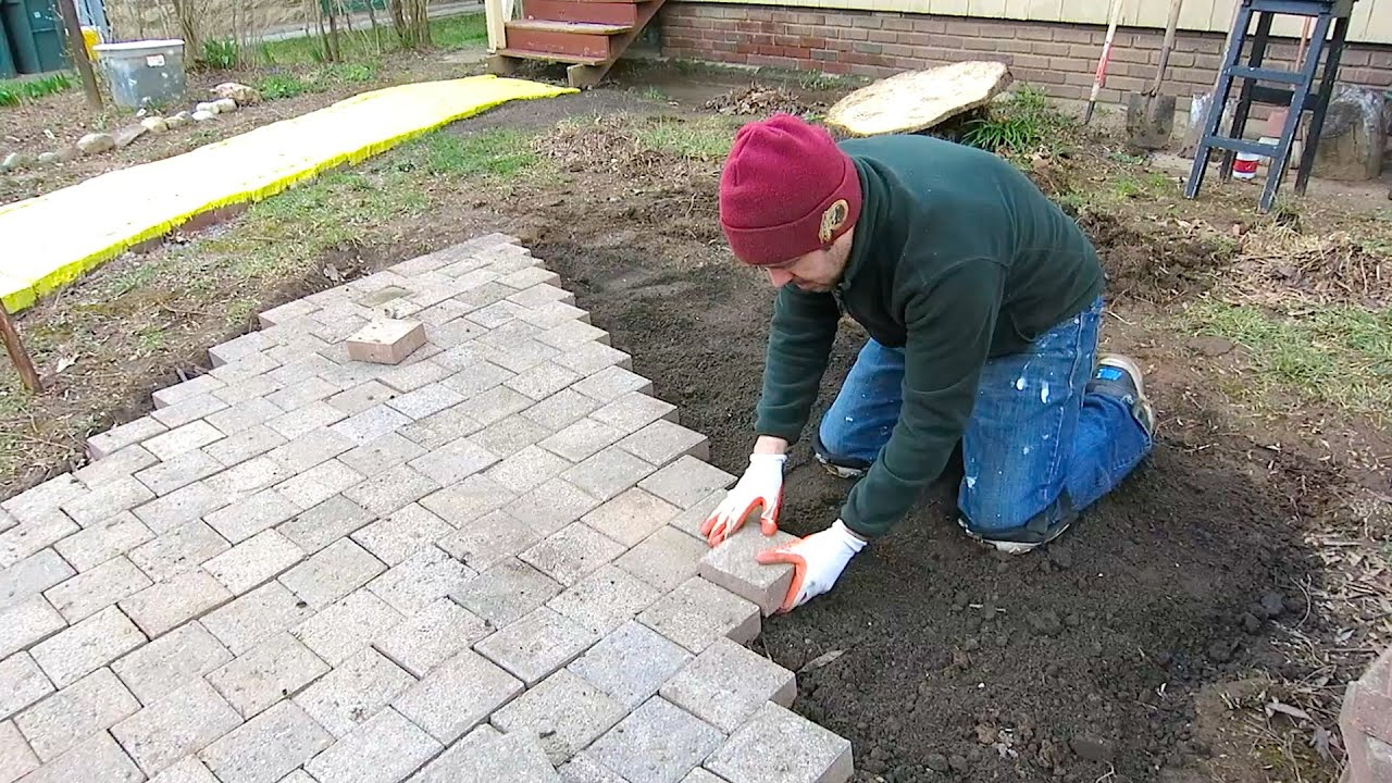 How NOT to Install Pavers