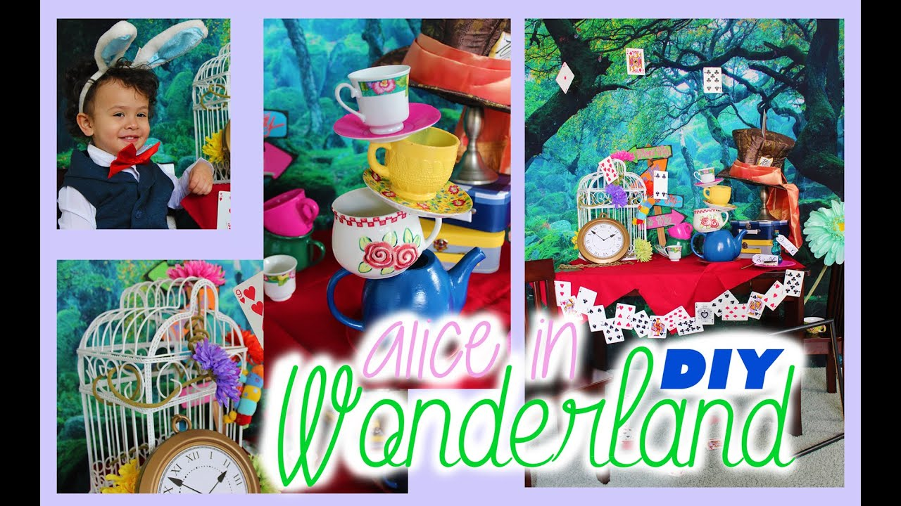 Alice In Wonderland Decoration Ideas