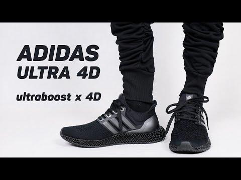 Siêu phẩm mới adidas Ultra 4D : toàn thân Ultraboost 1.0 trên bộ đế 4D !!!