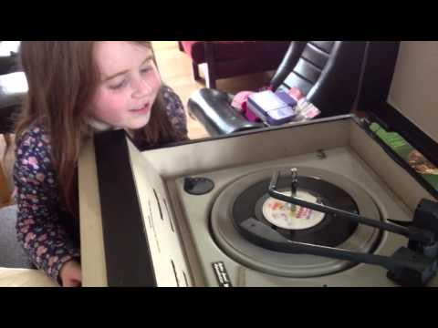 Our new (old) record player