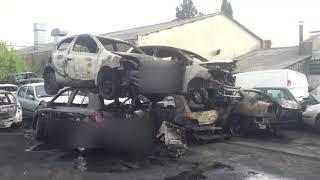 Voitures brûlées à Angoulême