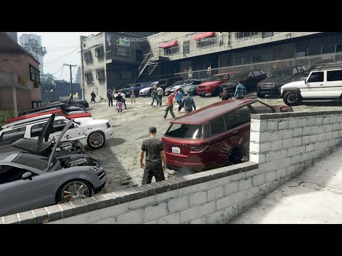 Grand Theft Auto V Online (XB1) | SUV Meet | Off-Roading, Mt. Josiah, Drag Racing & More