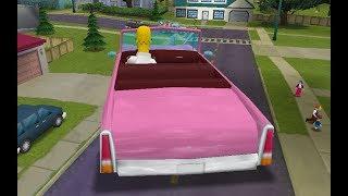 The Simpsons Hit & Run - Giant Family Sedans