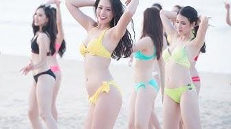 Quay lén gái xinh tắm biển. Con gái ở đâu đẹp nhất.Where the girl is the most beautiful