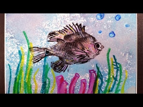 How To Create A Japanese Gyotaku Fish Print
