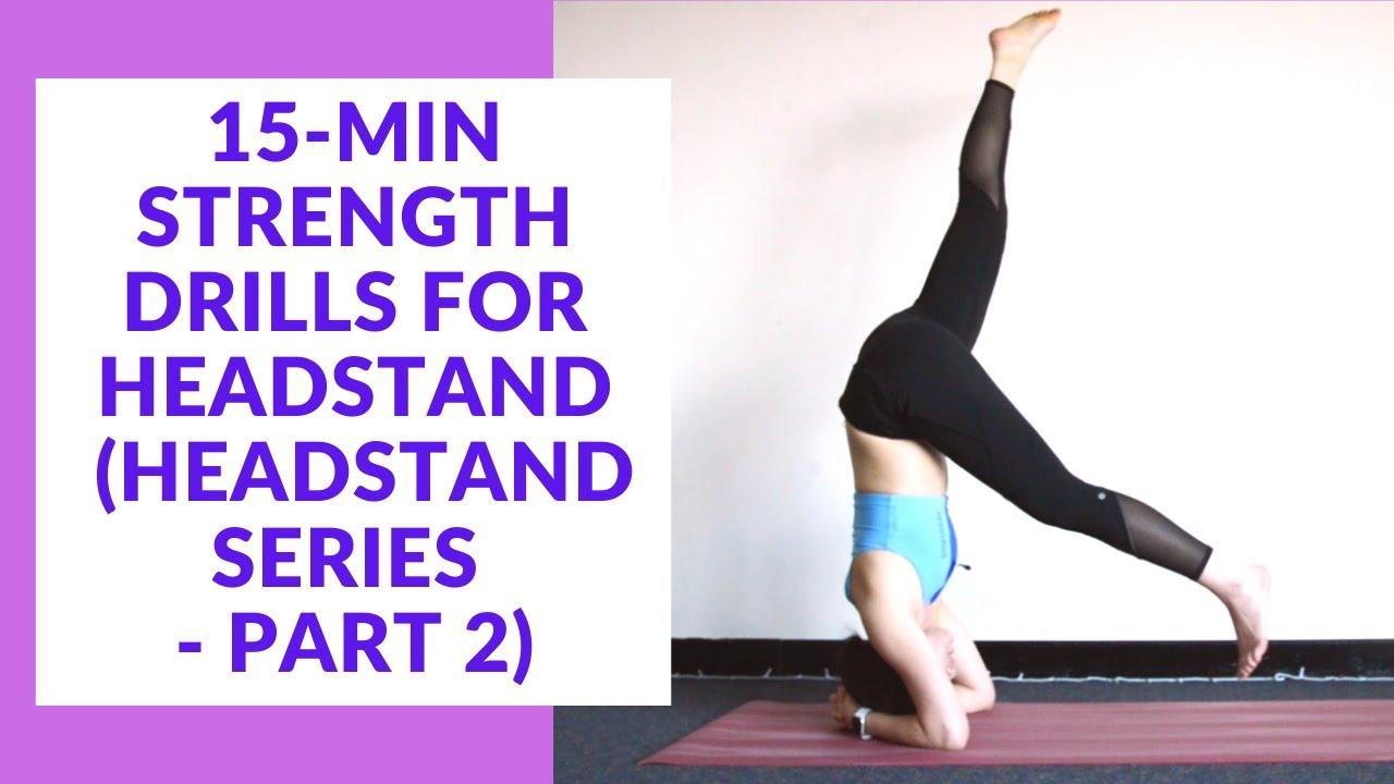Headstand Drills Yoga