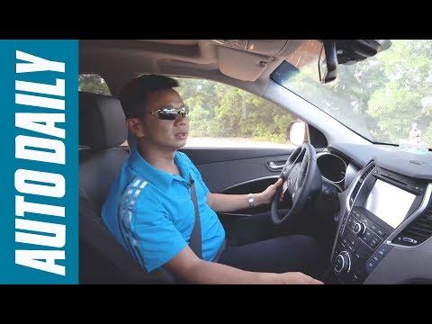 Thử tính năng Auto Hold và Hỗ trợ xuống dốc trên Hyundai SantaFe |AUTODAILY.VN|