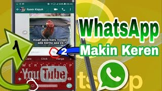 Video New 2 Amazing Whatsapp Features download MP3, 3GP, MP4, WEBM, AVI, FLV Agustus 2017
