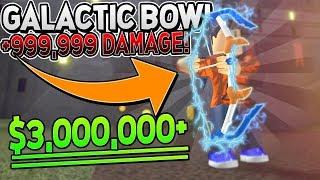 COMPRAR LOS $3,000,000 *MEJOR BOW* en ARCHERY SIMULATOR! (Nuevo juego Roblox)