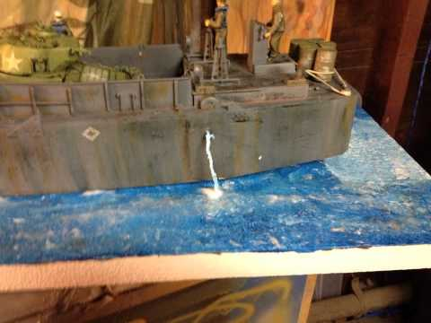 working process on my lcm Russell Gossellin D-Day GB
