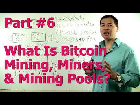 Part #6 - What Is Bitcoin Mining, Miners, & Mining Pools? (Bitcoin For Non-Technical People)