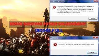 Error Dbghelp.dll |Survivor Royale Solucionado 2018