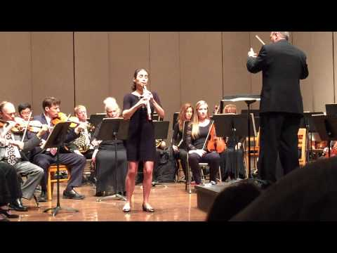 Mozart Oboe Concerto K. 314 Katherine Needleman