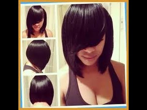 Best Feathered Bob Hairstyles For Black Women Youtube