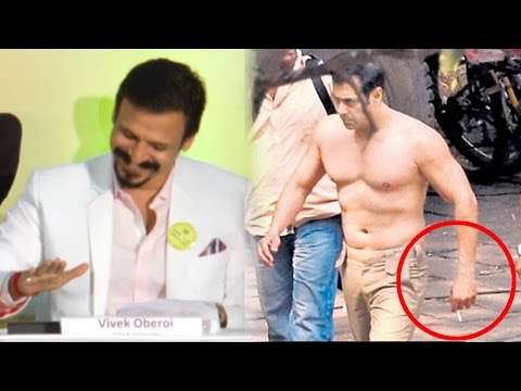 Vivek Oberoi's REACTION On Salman Khan's Smoking Habit
