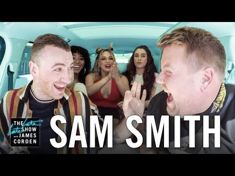 Carpool Karaoke w Sam Smith ft Fifth Harmony