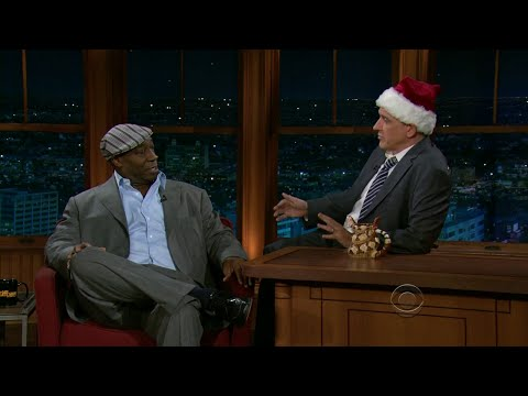 Late Late Show with Craig Ferguson 12/22/2010 Michael Clarke Duncan, Grant Imahara
