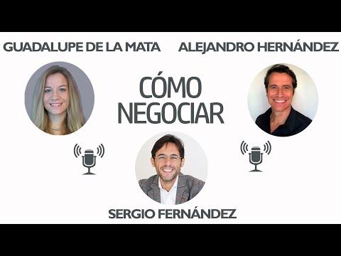 Negociar es fácil si sabe cómo. Alejandro Hernández, Guadalupe de la Mata y Sergio Fernández. 64