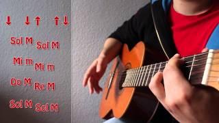 Como tocar Stand By Me (John Lennon / Ben E. King). Canción fácil. Curso básico de Acordes 13