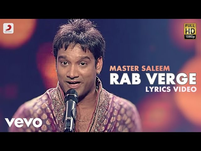 Saleem - Rab Varge | Rabba Mereya | Lyric Video