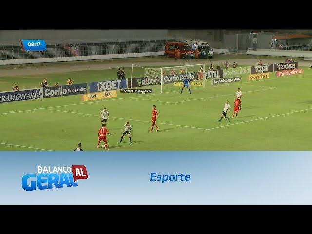 Esporte: CRB  empata com o Sport no Estádio Rei Pelé