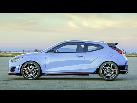 2019 Hyundai Veloster N 2.0 Turbocharged Engine with up to 275 HP and 260 lb. ft. of Torque