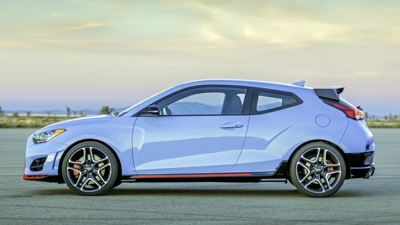 2019 Hyundai Veloster N 2 0 Turbocharged Engine With Up To 275 Hp