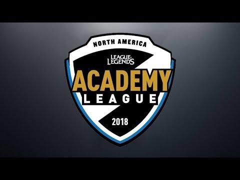 CLGA vs. C9A | Week 1 | NA Academy Spring Split | CLG Academy vs. Cloud9 Academy (2018)