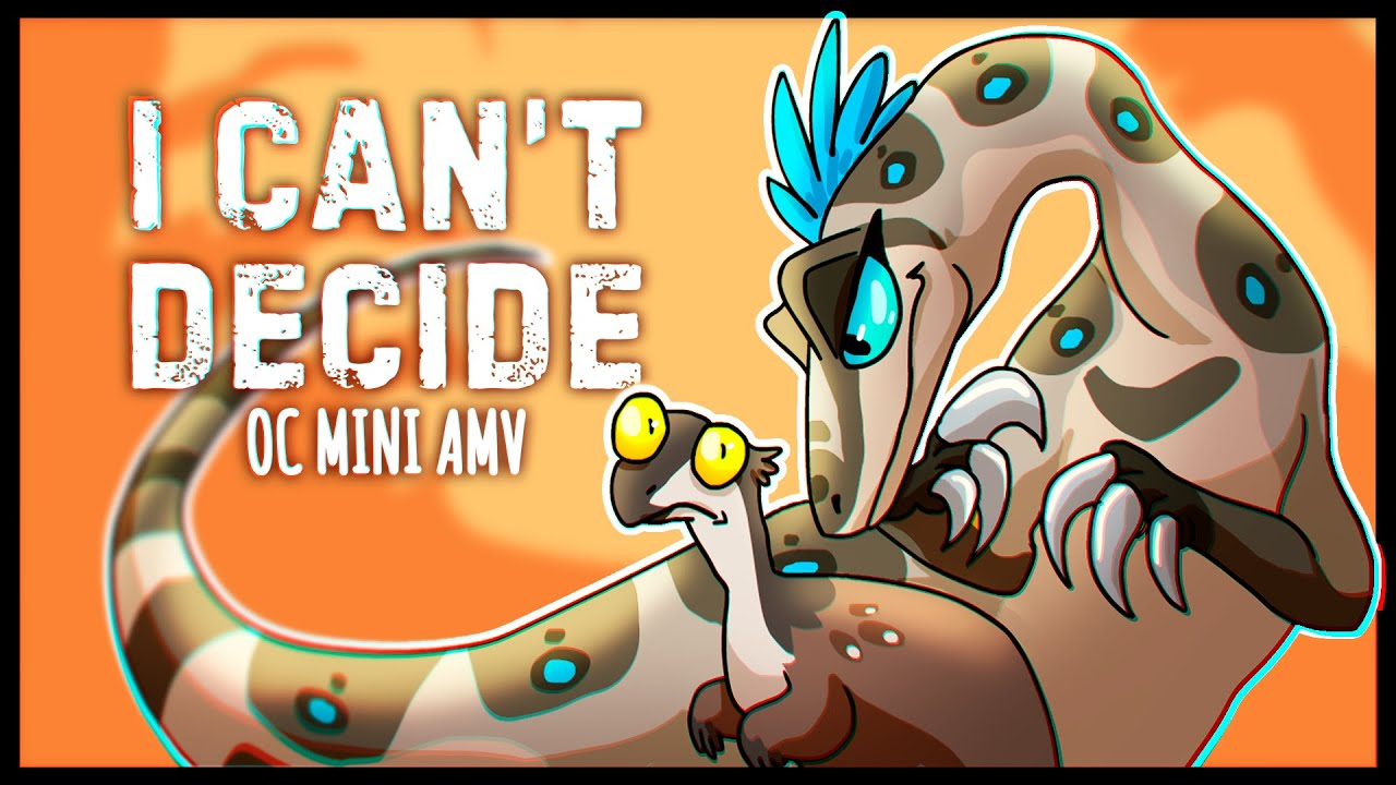 I CAN'T DECIDE - OC animation [Mini-AMV]