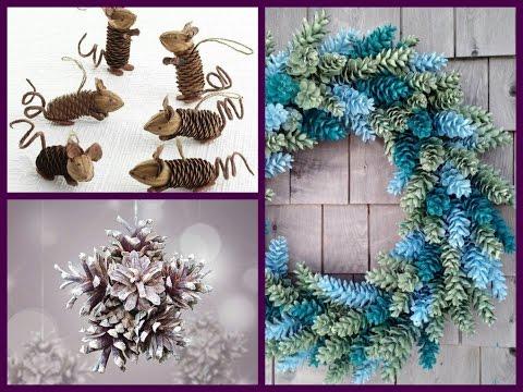 Pine Cone Crafts Ideas - DIY Cone Decor Ideas