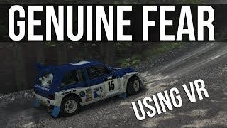 DiRT Rally - This Made Me Feel Genuine Fear | VR |
