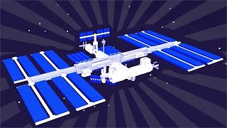 How To Build a SPACE STATION in Minecraft (CREATIVE BUILDING)
