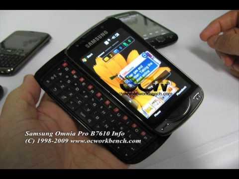 삼성 Samsung Omnia Pro B7610 @ OCWORKBENCH