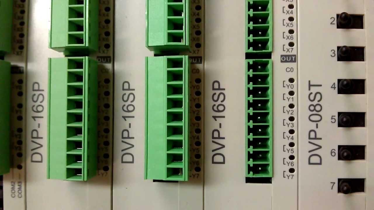 Delta DVP12SA211T PLC Problem  Delta DVP12SA211T PLC