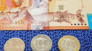 Тайна Белой Монеты, Как Появилась Такая 100 Тенге  Брак 5000 тенге прибыль благодаря каналу ИП