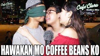 HAWAKAN MO COFFEE BEANS KO ( PRANK )  | SENPAI KAZU