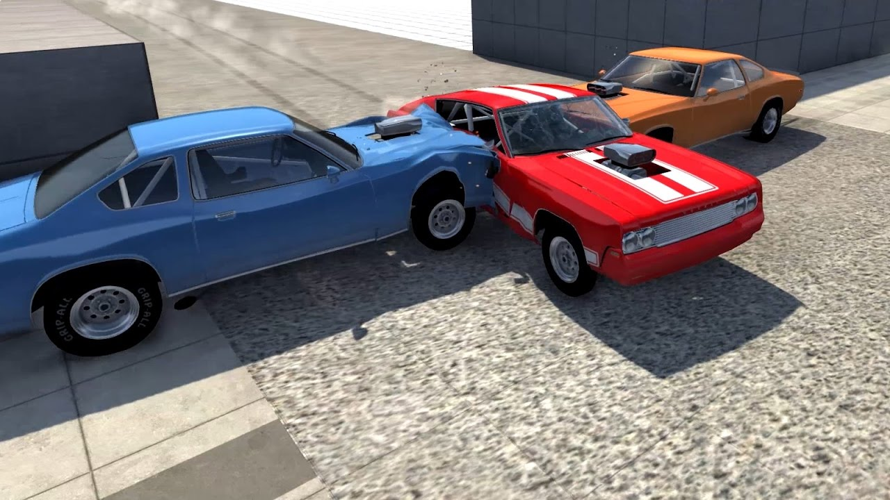 Beamng Drive Extreme Crash Test Site Youtube