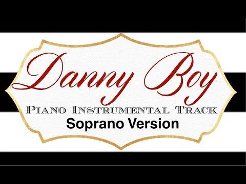 Danny Boy (Soprano Version) Piano Instrumental Track - Cherish Tuttle