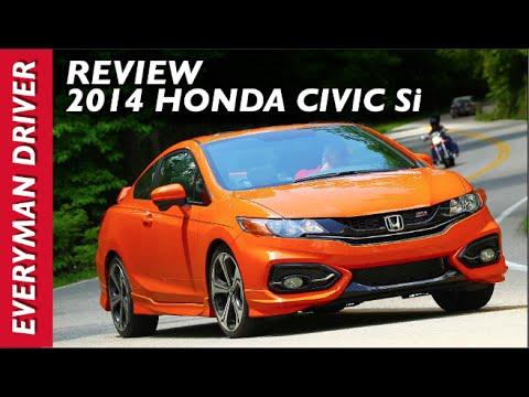 Here's the 2014 Honda Civic Si on Everyman Driver