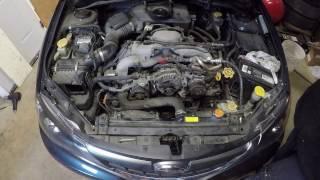 Subaru Impreza Engine knock
