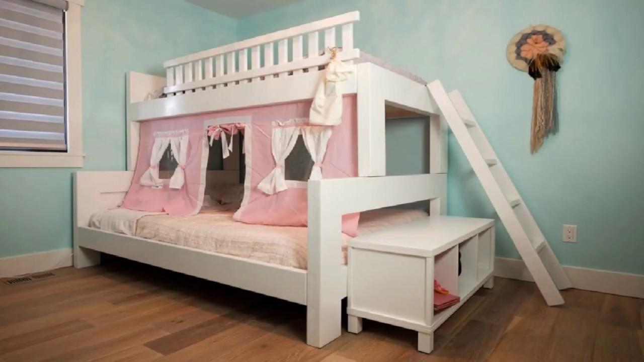 غرف نوم اطفال طابقين للبنات غرف نوم اطفال دورين للبنات