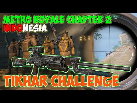 TIKHAR CHALLENGE!! KALIAN WAJIB COBA!! TERBUKTI GANAS! | METRO ROYALE CHAPTER 2 INDONESIA