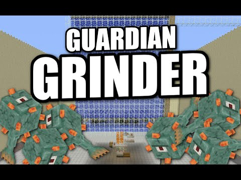 Minecraft PS4 - GUARDIAN FARM [ Automatic ][ AFK ] Tutorial ( Xbox / PE / PS3 / Switch )
