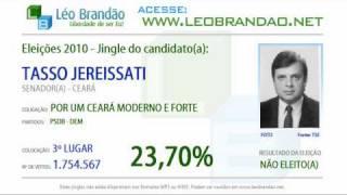 Jingles Eleições 2010 - Tasso Jereissati - PSDB - leobrandao.net